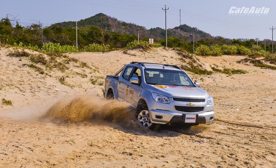 Lên rừng xuống biển với Chevrolet Colorado