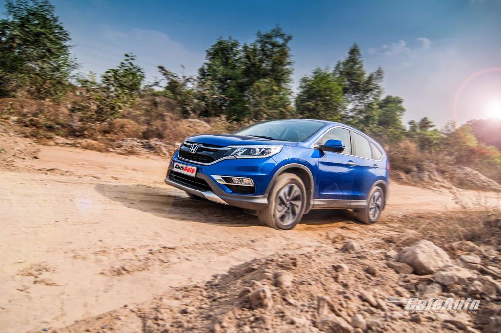 Honda CR-V: Càng thử càng hay