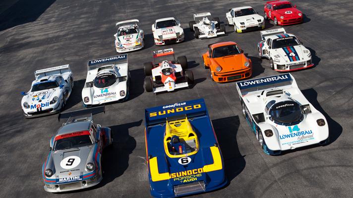 Bộ sưu tập Porsche độc nhất vô nhị