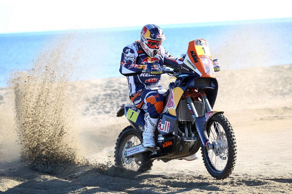 Công bố lộ trình giải Dakar Rally 2013