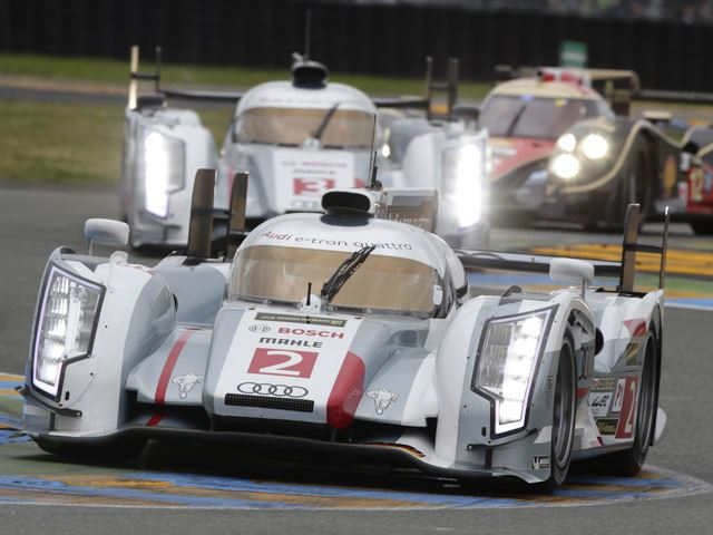 Audi R18 thắng giải Le Mans 24h