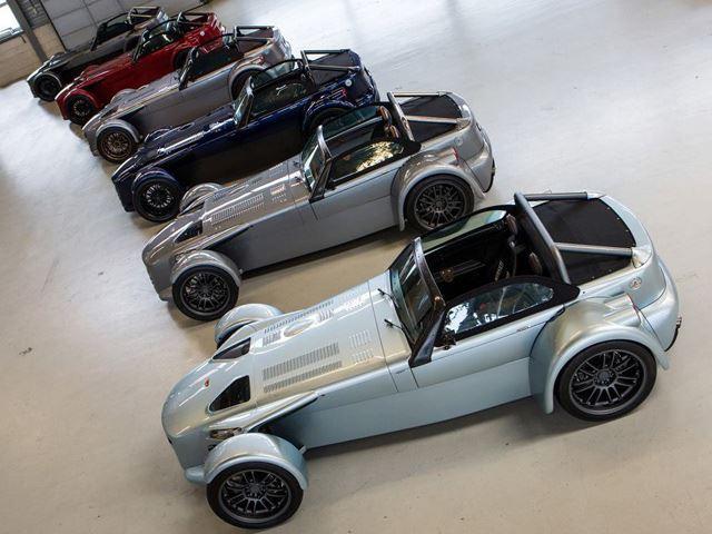 Donkervoort ra mắt xe đua 600 kg 380 mã lực