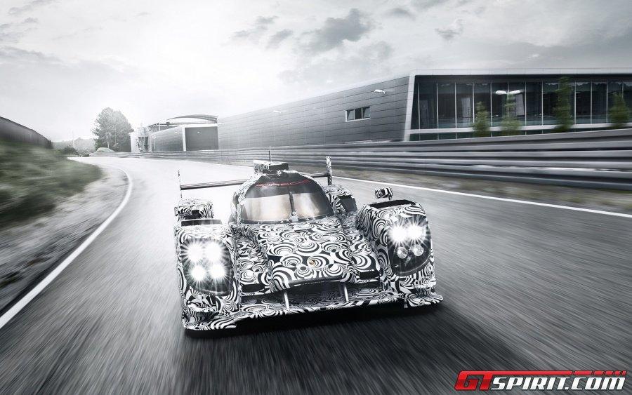 Hình ảnh mới nhất của mẫu Porsche LMP1 Prototype 2014