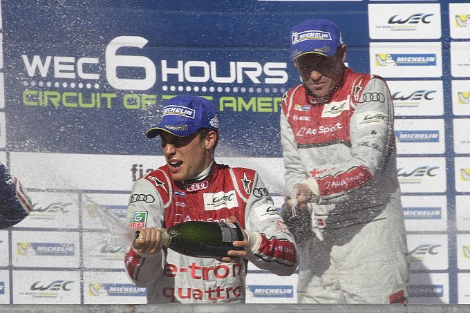 Audi ăn mừng chiến thắng thứ 100 ở Le Mans Prototype