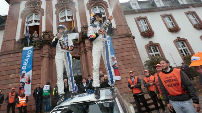 Sebastien Ogier chiến thắng sớm tại cúp World Rally Championship