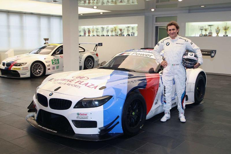 Alessandro Zanardi trở về với BMW