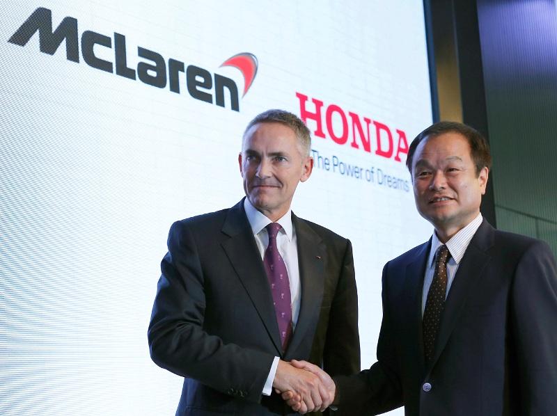 Honda sẽ hợp tác với McLaren cho đến năm 2017