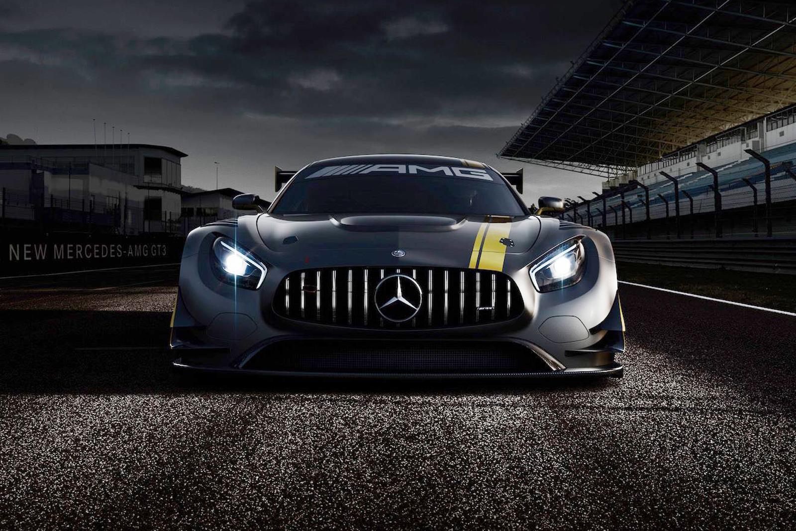 Mercedes tung hình ảnh xe đua AMG GT3