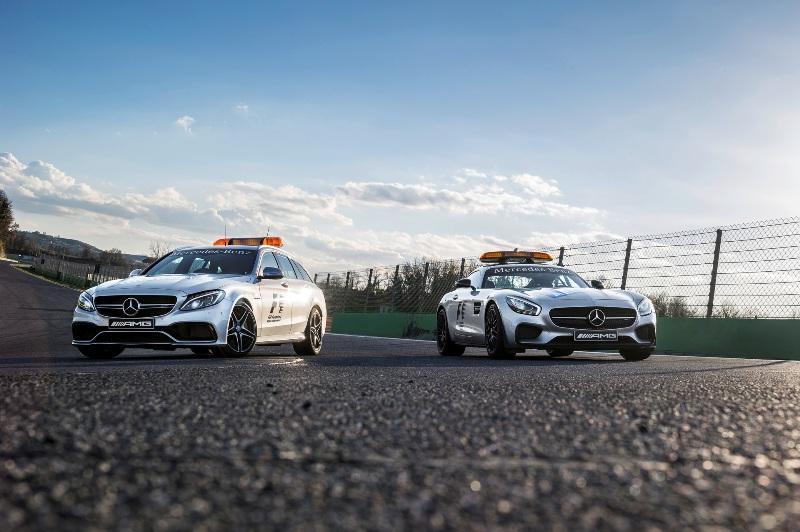 Lộ diện bộ đôi Mercedes-AMG GT và C63 phục vụ F1