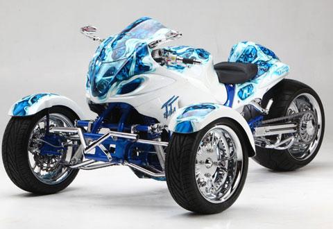 Hayabusa trikebike hàng độc
