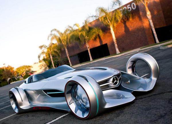 Phong cách lạ của Mercedes Silver Arrow concept