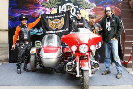 Chiêm ngưỡng bộ sưu tập Harley Davidson - Hà Nội