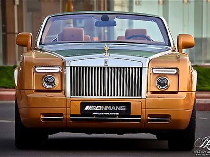 Nhà quý tộc vàng: Rolls-Royce Phantom Drophead coupe