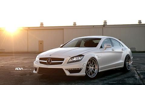 Chiêm ngưỡng phong cách sang trọng của Mercedes Benz CLS 63 AMG