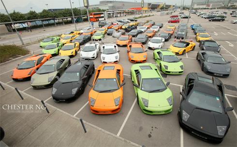Siêu xe trong câu lạc bộ Lamborghini Hong Kong