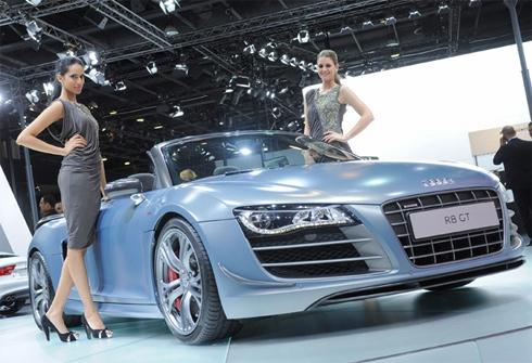 Xế khủng ở triển lãm ôtô Qatar