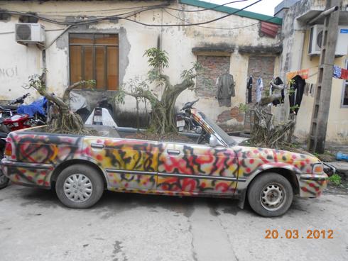 'Công dụng' mới của xe hơi ở Việt Nam