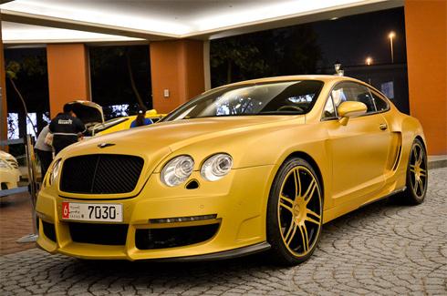 Siêu xe Bentley độ hàng độc ở Dubai