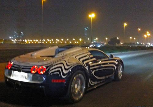 Bugatti Veyron bản gốm sứ lần đầu xuống phố