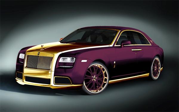 Rolls-Royce Ghost mạ vàng giá 4 triệu USD