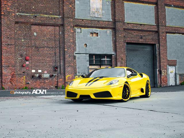 Ferrari F430 Scuderia nổi bật với bộ la-zăng ADV.1 Wheels