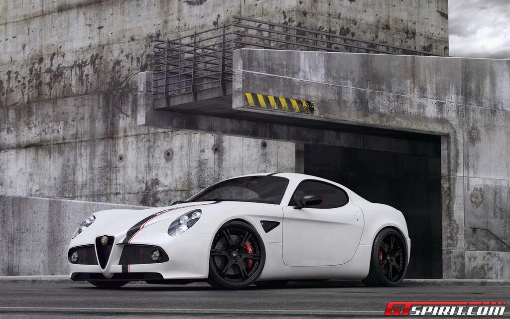 Wheelsandmore nâng cấp chiếc Alfa Romeo 8C Comprtizione
