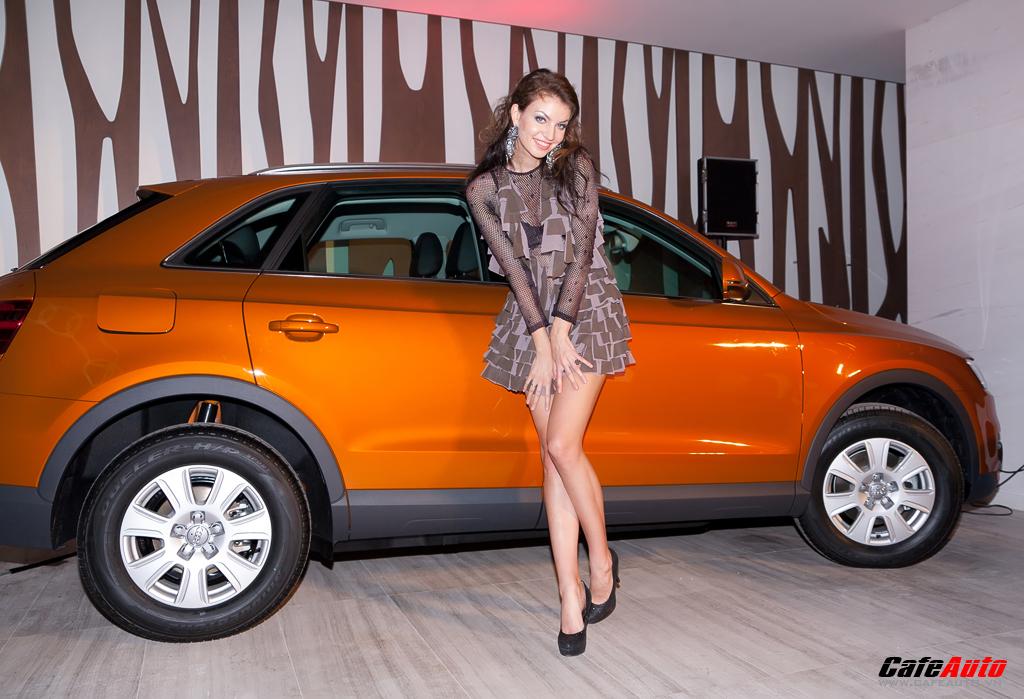 Ngắm dàn người mẫu quốc tế bên cạnh Audi Q3