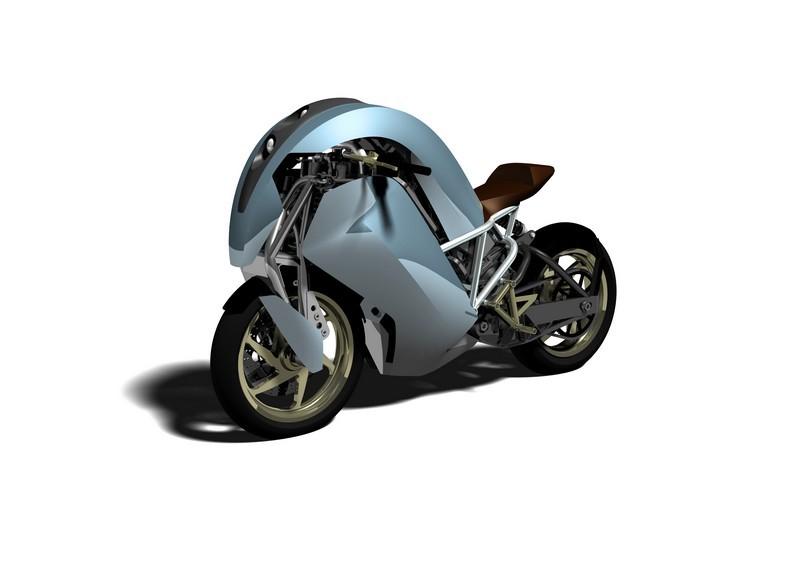 Agility Global Saietta - mẫu mô tô điện độc đáo