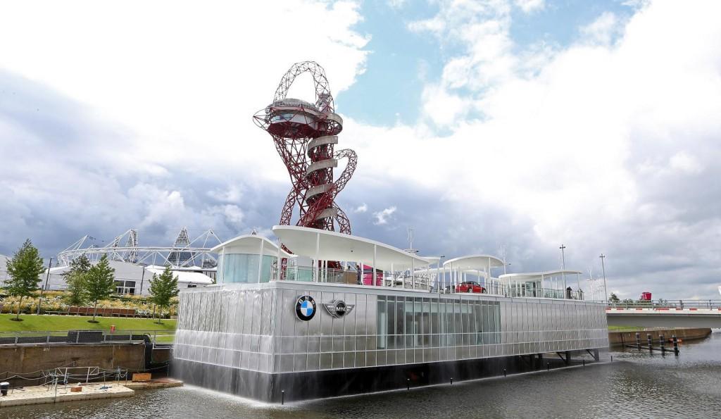 BMW mở gian hàng trưng bày tại thế vận hội Olympic 2012