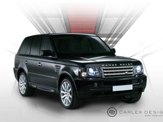 Range Rover Sport sang trọng với nội thất Burberry