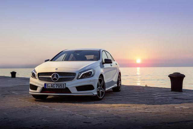 Mercedes A-Class – chiếc xe cỡ nhỏ hạng sang