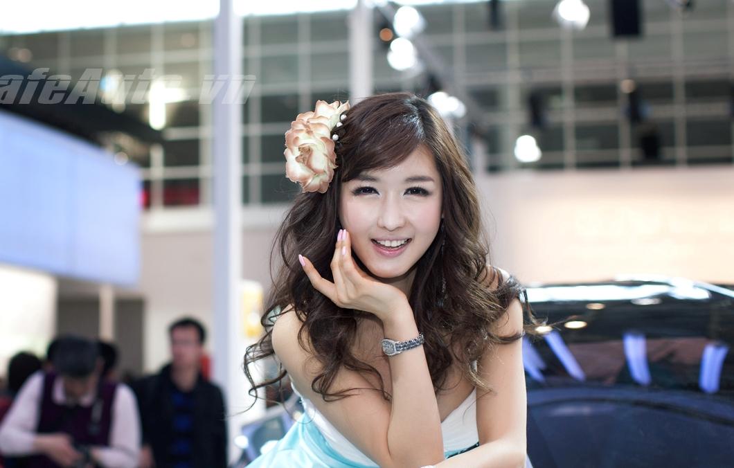 Ngất ngây trước vẻ đẹp thiên thần của mẫu Hàn Quốc