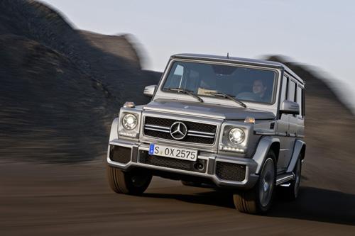 Quảng cáo đầu tiên của Mercedes G63 AMG