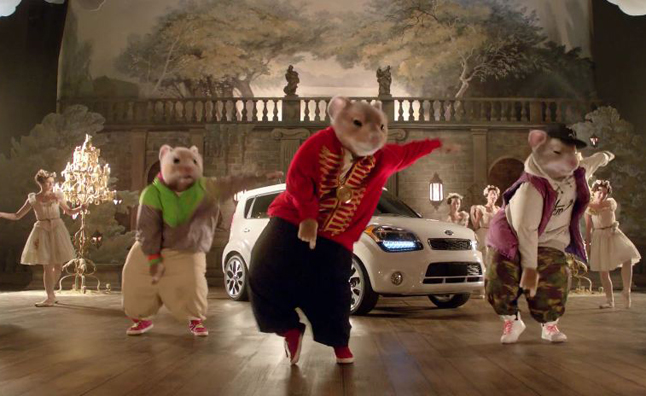 Kia sử dụng chuột Hamster để quảng cáo Soul