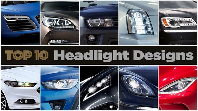 10 thiết kế đèn pha đẹp nhất