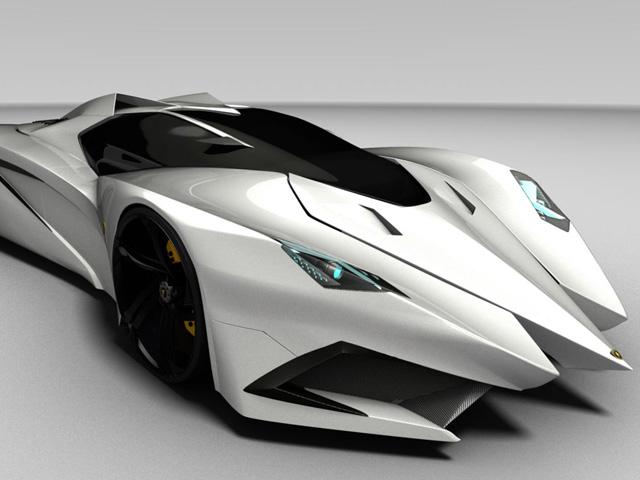 4 concept  trong mơ của Lamborghini
