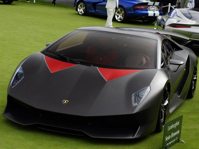 Siêu xe Lambroghini Sesto Elemento xuất hiện tại Anh