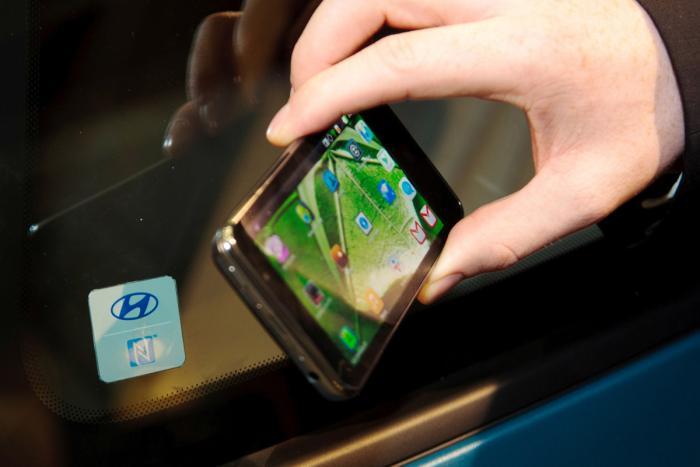 Hyundai giới thiệu chìa khóa thông minh