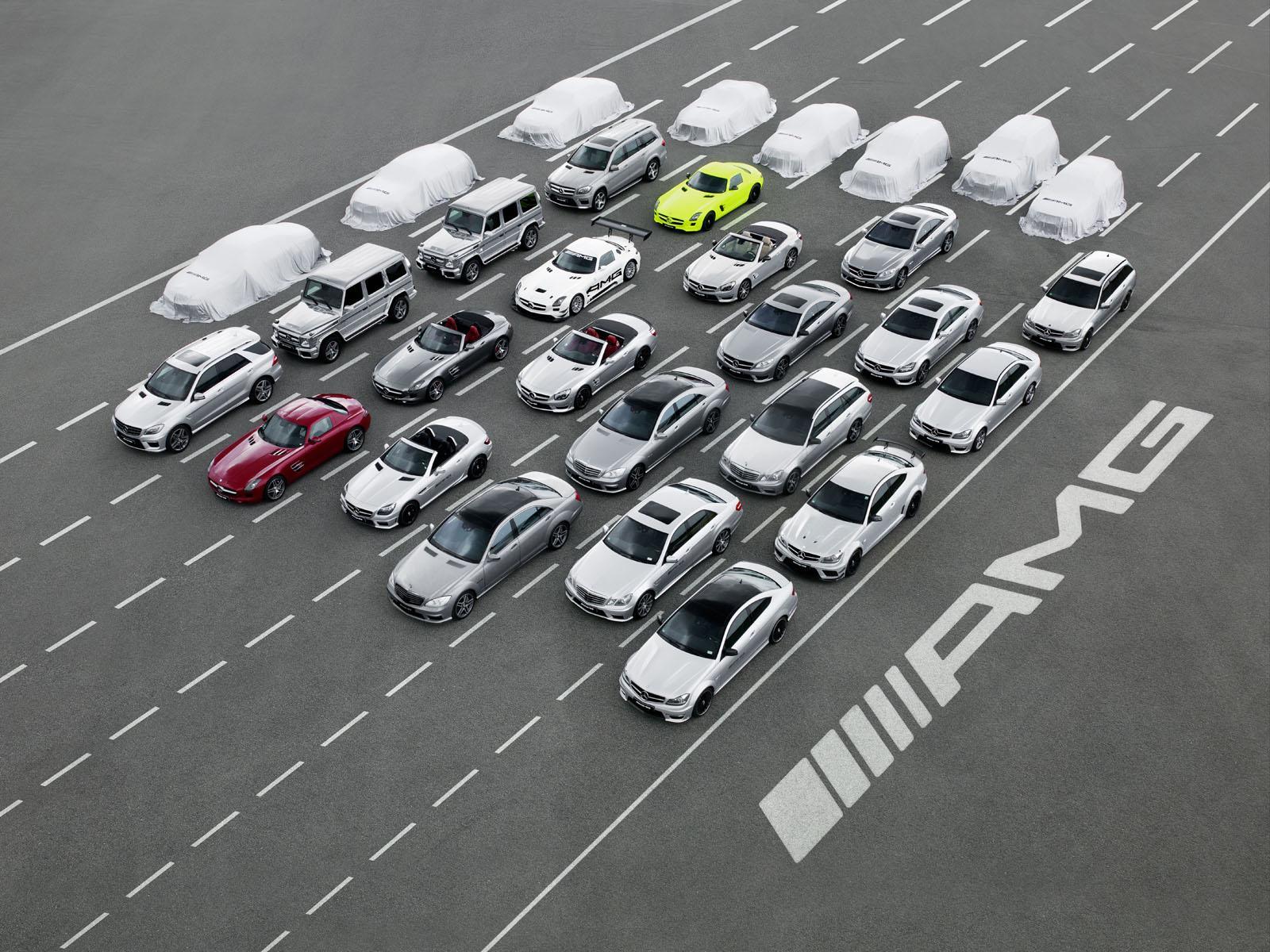 """Bản """"hợp xướng"""" mang tên Mercedes-Benz AMG"""