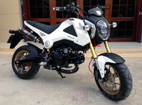 Xế 'độ' Honda MSX 125 đầu tiên tại Việt Nam