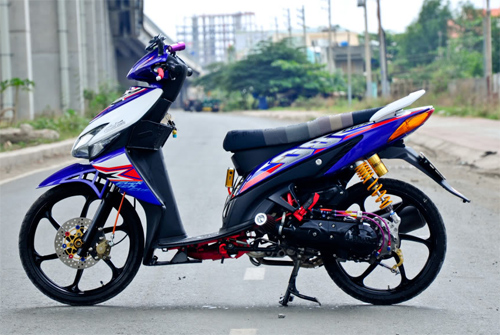 Bộ sưu tập Honda Click độ độc đáo ở Việt Nam