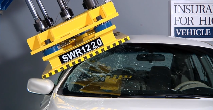 IIHS: Hầu hết trần xe không đáp ứng tiêu chuẩn an toàn
