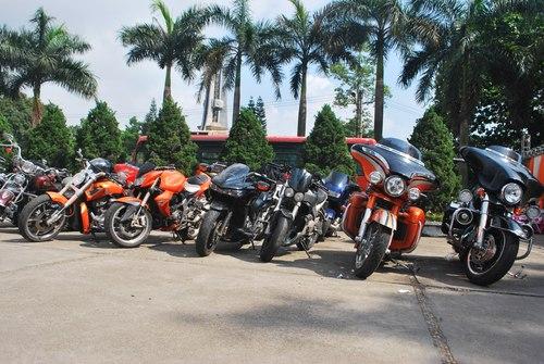 Gần 200 môtô lần đầu quy tụ tại Thái Nguyên