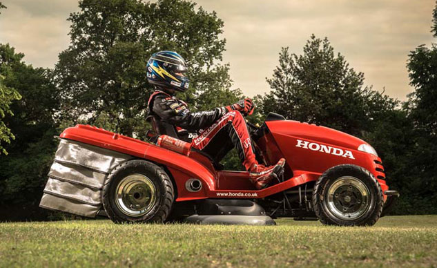 Honda Mean Mower – con lai 4 bánh