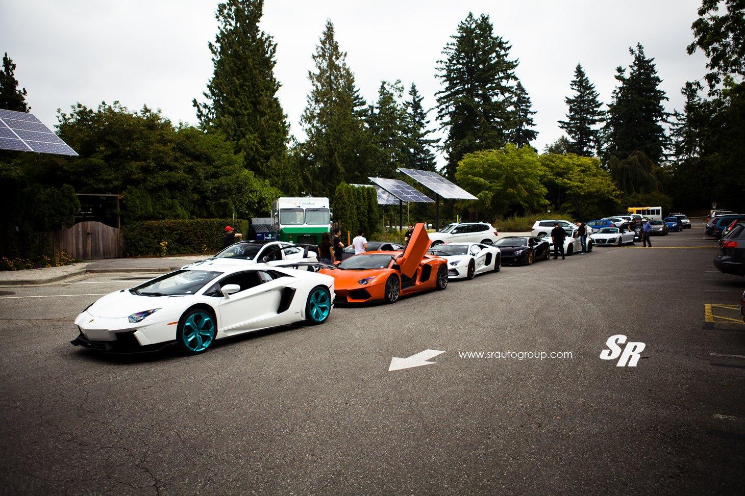 Lặng nhìn trước vẻ đẹp của siêu xe tại Luxury and Supercar Weekend 2013