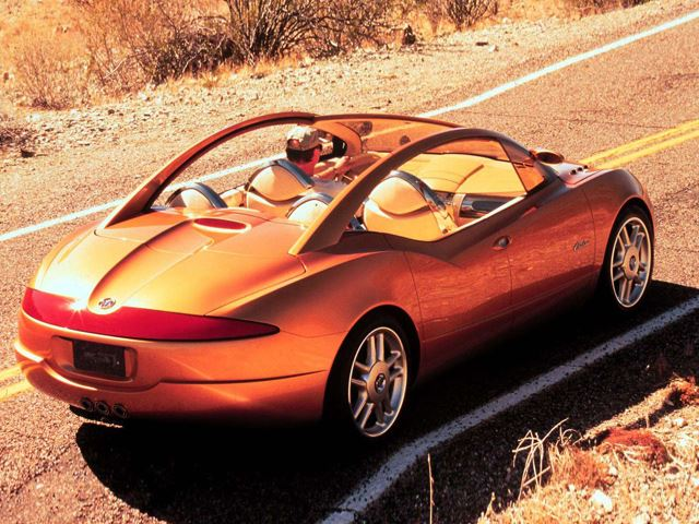 Ngạc nhiên với những mẫu concept thập niên 90