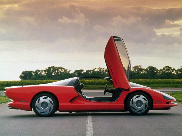 Ấn tượng xe concept thập niên 80