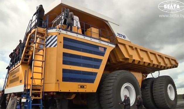Diện kiến xe tải lớn nhất thế giới
