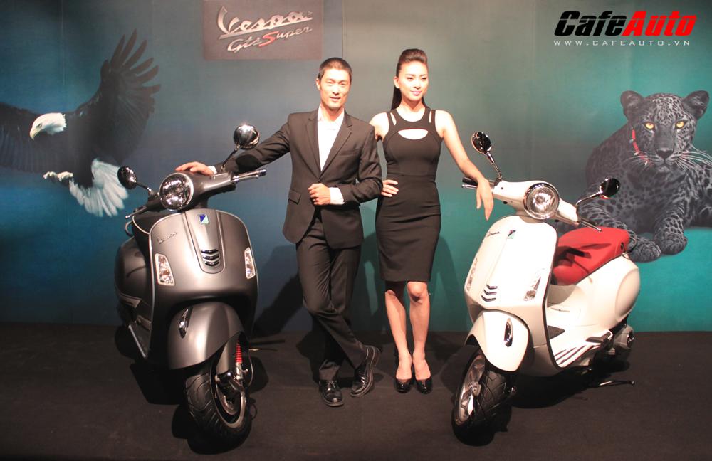 Piaggio ra mắt cặp đôi Vespa Primavera và Vespa GTS Super