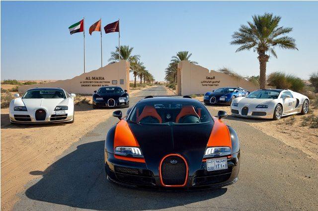 Khám phá vẻ đẹp Trung Đông bằng Bugatti Veyron